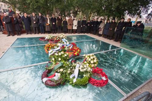 Auschwitz herdenking 2012